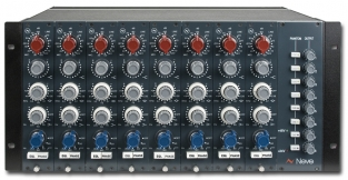 Neve 1073/1084 7U Rack with PSU (Fits 8 Modules)